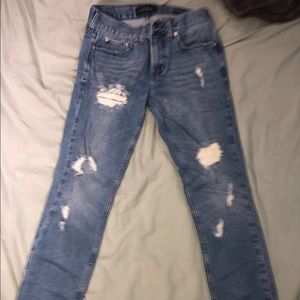 ⭐️Blue ripped Pacsun jeans
